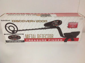 Metal Detector. Discovery 2000