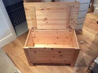 Blanket storage box - £10