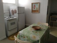 Completely furnished 1b/r apt