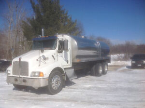 2005 kenworth t300 potable water truck