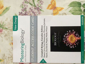 Campbell Biology Canadian Edition with Mastering Bio Access Peterborough Peterborough Area image 2