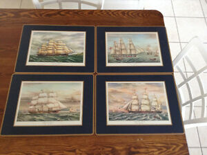 2-Sets of 4 Traditional Place Mats by Pimpernel