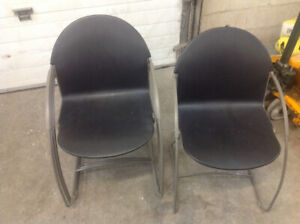 STACKING RECEPTION CHAIRS