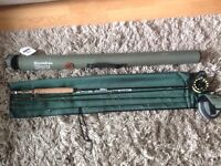 "Snowbee Diamond 10"" #3 rod and Sonik sks #3/4 reel"