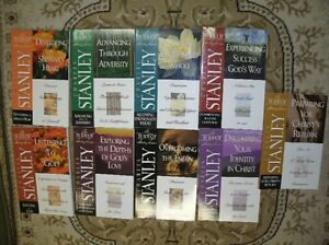9 NEW Charles Stanley Bible Study Books
