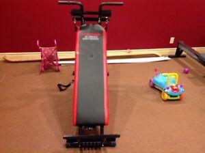 Exerciseur weider ultimate bodyworks