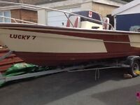 18ft fast fishing & pleasure boat