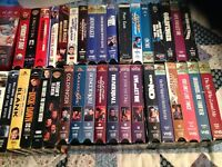 24 James Bond 007 vhs tapes and some others