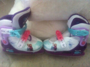 DISNEY CHILDREN  SKATES  LIKE NEW ADJUSTABLE 45.00 OBO