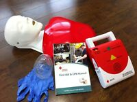 Workplace Standard First Aid/CPR/AED