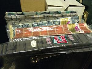 Paquets de papiers crepe ,antique pour decoration neuf