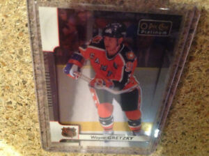 Carte de Hockey Wayne Gretzky platinum