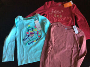 Lot of 3 - NWT - Girl's Shirts (Gymboree & Old Navy) *sold ppu*