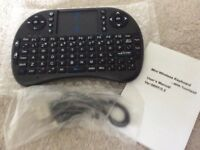 Brand new mini wireless keyboard with touch pad