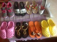 VARIOUS LADIES FOOTWEAR