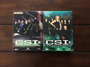 DVD: CSI les experts saison 4 et 5