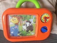 TV toy moving pictures and sounds