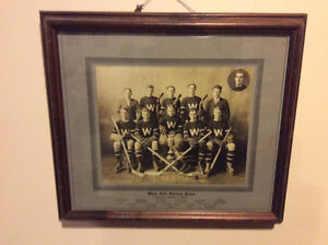KINGSTON WEST END HOCKEY TEAM JR CITY CHAMPS 1930-31