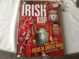 """ Irish Kop "" Hardback book"