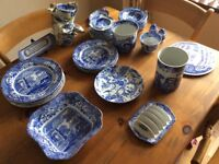 Spode China - Blue and white