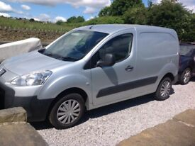 Peugeot partner diesel van full mot drives perfect very very tidy