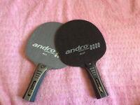 Bois pour raquette de ping pong