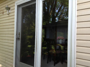 Terrace patio door