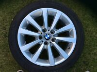 BMW 5 series F10/F11 18 inch alloy with runflat tyre