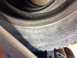 """15"""" Snow Tires, set of 4 Kawartha Lakes Peterborough Area image 2"""