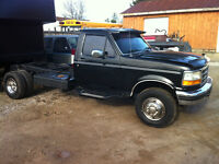 1997 F450 Custom cab and chassis... Powerstroke, 5 speed w/260km
