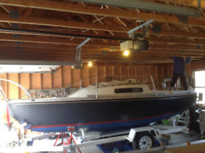 $3200.00 CS22 sail boat with trailer with optional engine