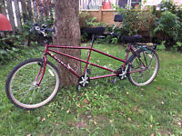 LIKE NEW 18 speed Norco Cape Cod Tandem Bicycle for Two!