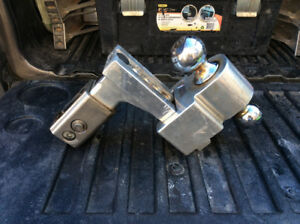 "2-1/2"" adjustable hitch"