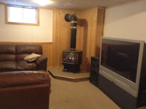 Furnished basement apparment available December 20th 2017