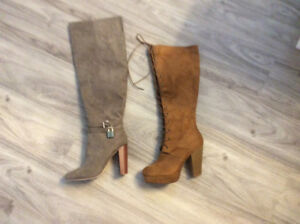 Knee high and over knee High heeled NEW ladies boots