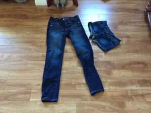 American eagle jeans Size 0 short,  hollister shorts W24