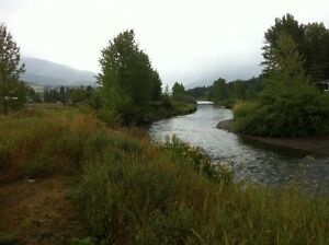2.55 ACRES BY THE RIVER IN CROWSNEST PASS