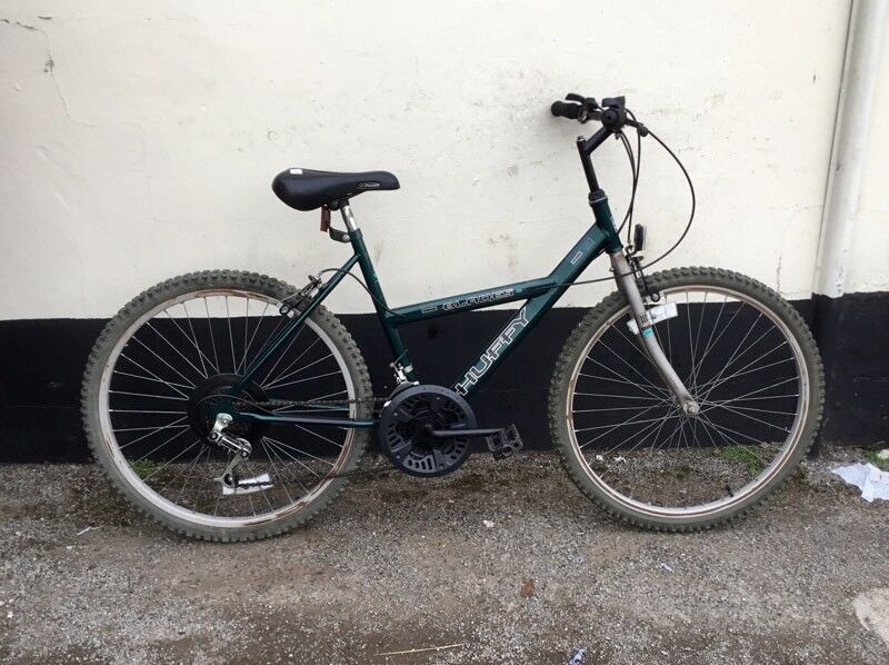 "LADIES HUFFY MOUNTAIN BIKE 18"" FRAME £35"