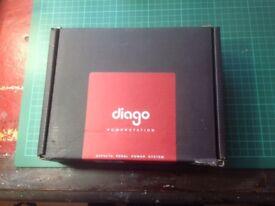 DIAGO PEDAL BOARD PSO1 power supply 3,000 milliamp
