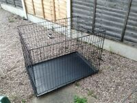 Large dog training crate