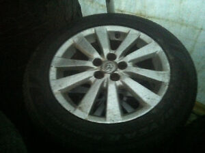 Toyota corolla rims n tires