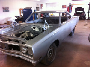 1969 PLYMOUTH ROAD RUNNER RESTORED ROLLING CHASSIS