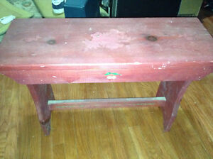 Great condition wooden bench for sale