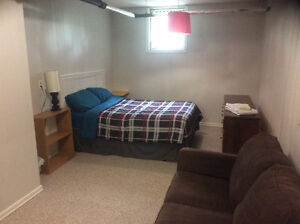 Furnished Separate Entrance One Bedroom Suite Avail Dec1