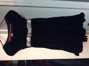 Black Velvet Holiday Editions girls XL 16/18 dress