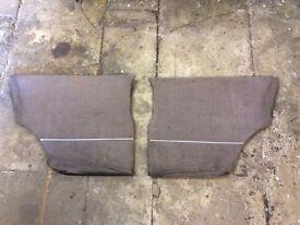 Classic mini rear quarter panels £15