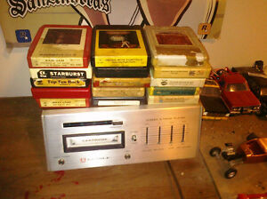 8 track player with 15 8tracks