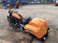 Part Exchange Considered Custom Harley Davidson Fat Boy Bagger 2011 VGC