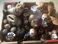 Ornamental owls