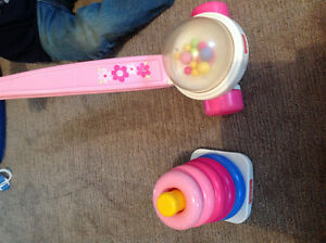 Fisher Price pink classic toys